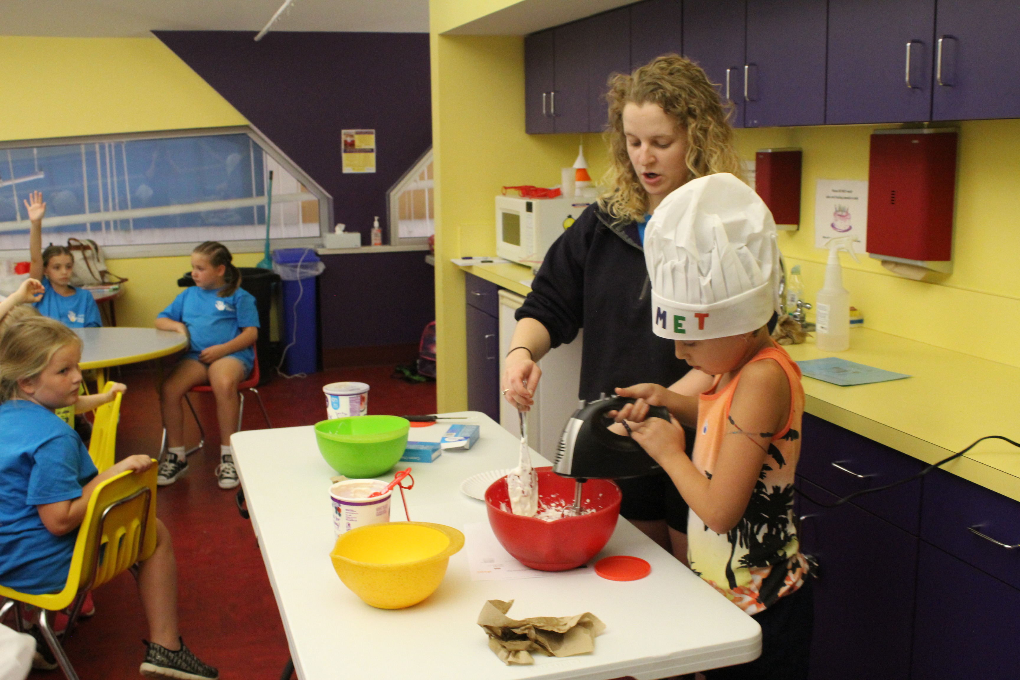 Kids Cookoff Discovery Camp
