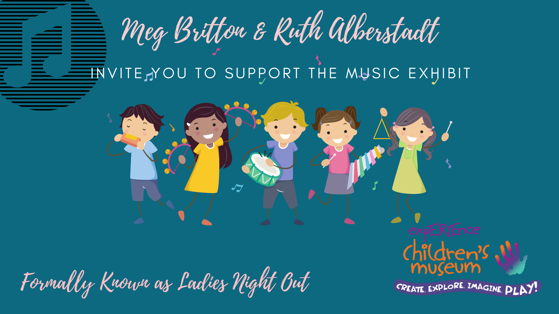 Music Exhibit Virtual Event- Formally Ladies Night Out