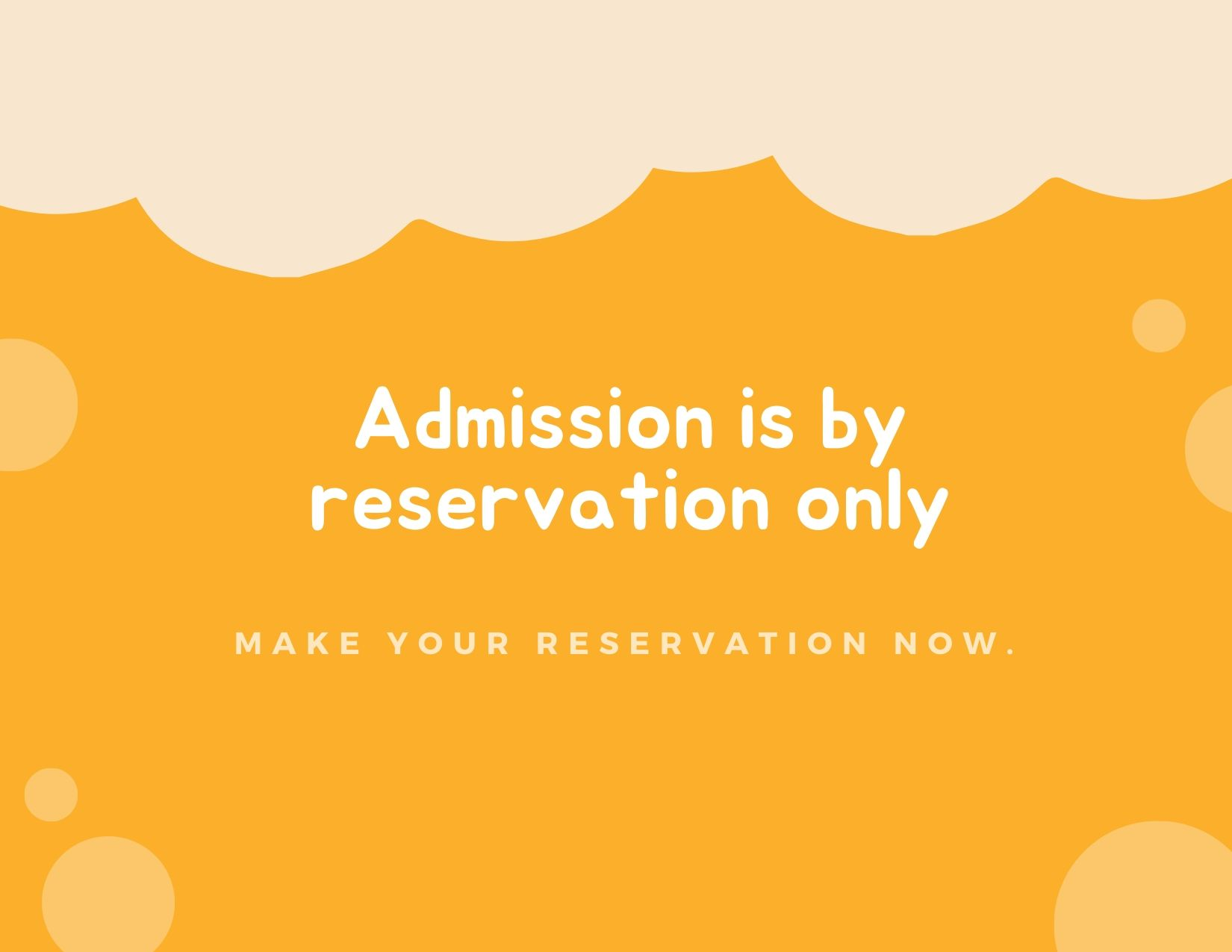 May 15 12pm-2pm Online Admission Reservation Remake Learning Day!